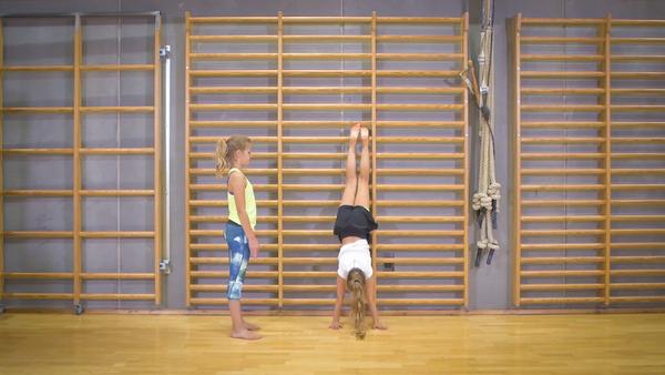 Øvelse til araberflik og gymnastik i idræt - Undervisning