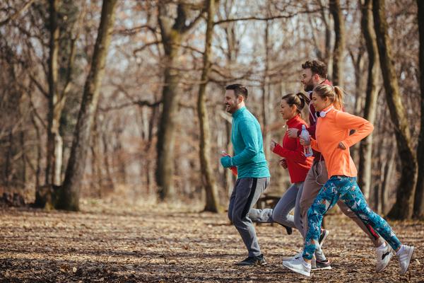 Opvarmning og løb i idræt - Undervisning